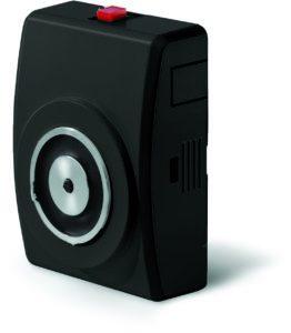 Trzymacz elektromagnetyczny ścienny GTR048000A07 czarny